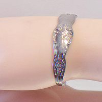 Vintage Spoon Cuff Bracelet WMA Rogers Oneida LTD Jewelry Fashion Accessories For Her