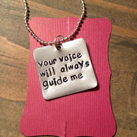 quote necklace, graduation gift, gift for teacher, inspirational, hand stamped, custom necklace, teacher gift, quote jewelry