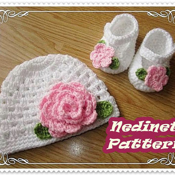 Best Crochet Baby Hat And Shoes Products On Wanelo