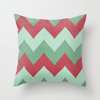 Holly Berries Throw Pillow by CMcDonald | Society6