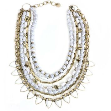 Baila | Bead and Chain Necklace