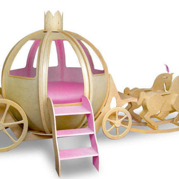 Princess Carriage Bed From Totally Kids Fun Furniture Toys