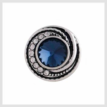 Blue Stone and Crystals 12mm Mini