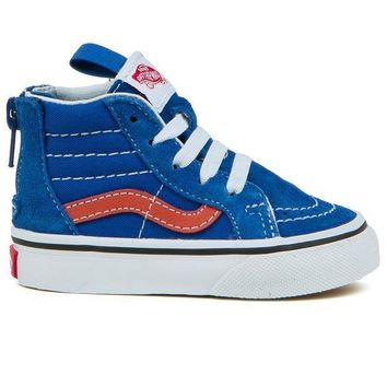Vans Classics Sk8-Hi Zip Toddler Shoes