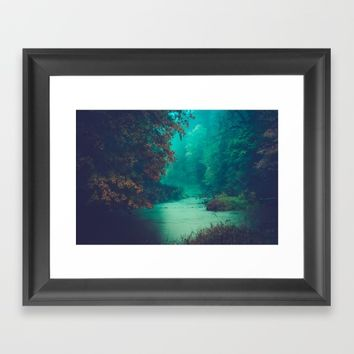 Sanctuary Framed Art Print by Faded  Photos