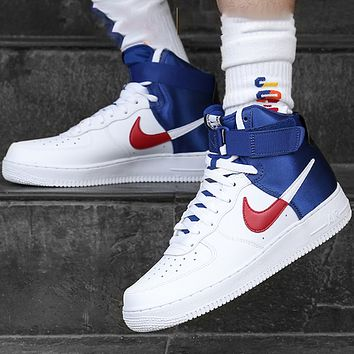 Nike Air force 1 Low New fashion hook couple running shoes