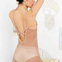 Out From Under Mesh Net Cross-Back Slip-