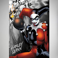 Harley Quinn the Bomb Poster