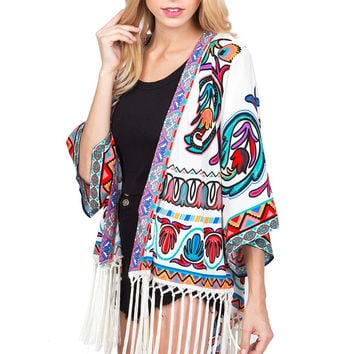 Richly Rhythmic Cardigan