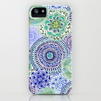 Tossed Mandalas iPhone & iPod Case by Janet Broxon