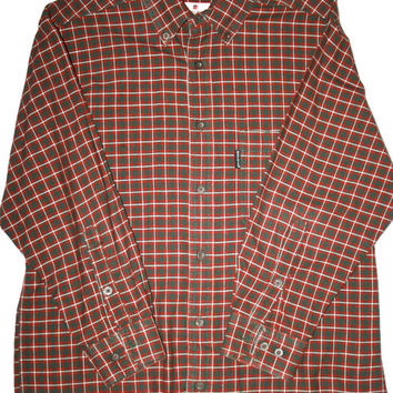 Vintage Woolrich Plaid Shirt Mens Size Medium
