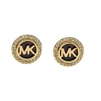 "Hot Sale ""MICHAEL KORS"" Popular Women MK Letter Diamonds Earrings Accessory I/A"