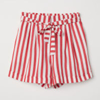 Striped Shorts - from H&M