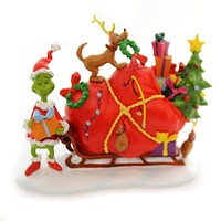 Department 56 Accessory Grinch's Small Heart Grew Three Sizes That Day Village Accessory