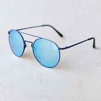 Le Specs Instinct Blue Aviator Sunglasses - Blue One