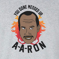 Fire mad version Key and Peele Substitute Teacher you done messed up aaron tee t-shirt unisex shirt movie terries obama