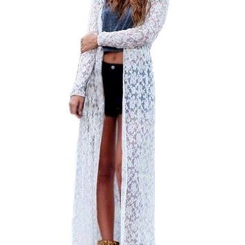 Gorgeous Lace Duster in Five Colors