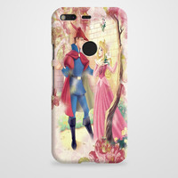Sleeping Beauty Princess Aurora And Prince Phillip Google Pixel XL Case | casefantasy