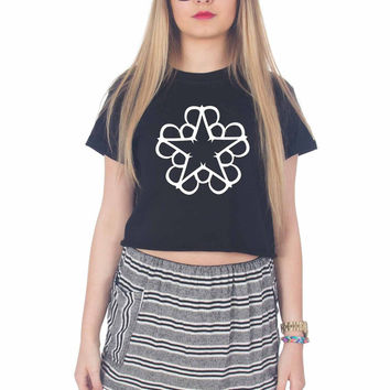 Black Veil Brides For Womens Crop Shirt ***