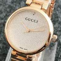 GUCCI exquisite watches F-Fushida-8899 Rose gold