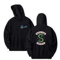 Riverdale Hoodie Men Women South Side Serpents Harajuku Riverdale Southside Boys Girls Oversize Sweatshirts Pullover Hoodies