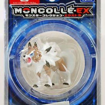 Takara Tomy Pokemon Sun Moon EX Moncolle Lycanroc Midday Form Action Figure USA