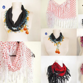 Super Sale-4 pieces Scarf -60 dollar -christmas gift -