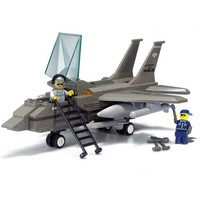 Military Airforce Jet - LEGO Compatible Set