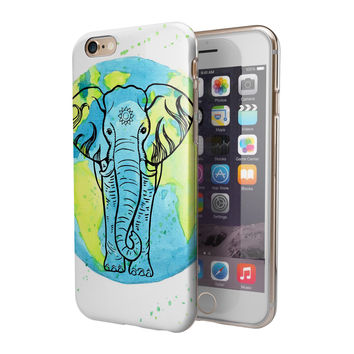 Worldwide Sacred Elephant 2-Piece Hybrid INK-Fuzed Case for the iPhone 6/6s or 6/6s Plus