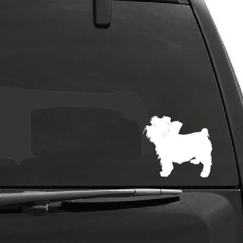 Terrier Dog Decal - D1036