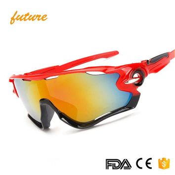 Men Sunglasses Unbreakable Frame Hiking Fishing Cycling