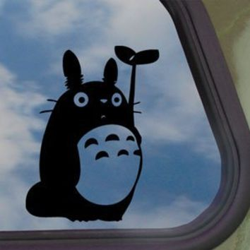 Totoro Black Decal Studio Ghibli Car Truck Window Sticker 8049495129