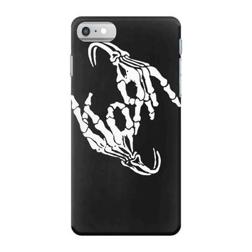 korn band skeleton sign bone logo iPhone 7 Case