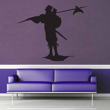 Pikeman Silhouette - Wall Decal$8.95
