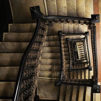 """""""Going Down"""" by Kevin Schumacher, Metallic Photographic Archival Print"""