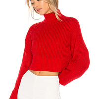 Lovers + Friends Union Sweater in Red | REVOLVE