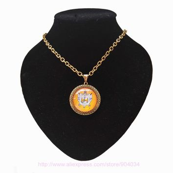 Sigma Gamma Rho Sorority  SGR Sorority Poodles  necklace Jewelry