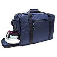 Navy Sneaker Storage Duffle Bag by DSPTCH