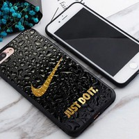 Water Drop Nike.09 Just Do It Best Case For iPhone 6 6s 6+ 6s+ 7 7+ 8 8+ X Cover