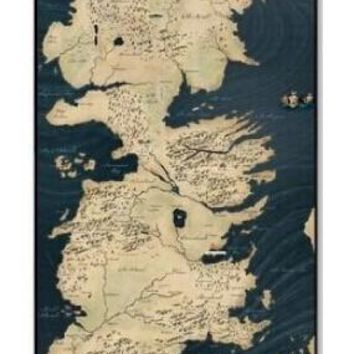 GOT Map phone case