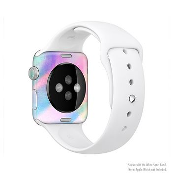 The Tie Dyed Bright Texture Full-Body Skin Set for the Apple Watch