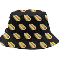 Neff Hot Dog Bucket Hat Hotdog, One