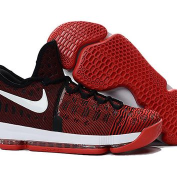 Nike KD 9 University Red/White-Black Men's Basketball Shoes