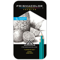 Prismacolor® Premier® Turquoise Soft Graphite Pencil Set
