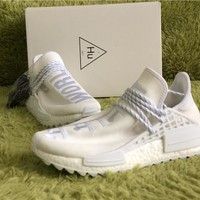 Pharrell Williams x PW HU NMD TRI White 36---46.5