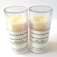 Green Tea and Cucumber Hand & Cuticle Balm, Vegan Lotion
