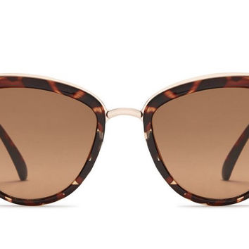 Quay My Girl Tortoise / Brown Sunglasses