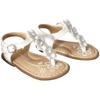 Target : Infant Girl's Genuine Baby from OshKosh™ Alisha Sandal - White : Image Zoom