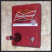 Budweiser Hat, Coat & Key Wall Hanger