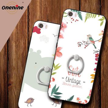 Silicone Cases for Xiaomi Mi 5 Case Luxury Cute 360 Protection 3D Cartoon Painting Mobile Phone Back Cover for Xiaomi Mi5 5.15